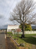 Check out tiny Buffington Park and Heritage Site while you wait for the ferry to Oregon