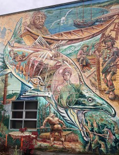 Great murals can be found all around Bellingham