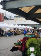 Scores of great farmers and artisans at the Farmers Market