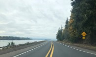Heading west on SR-4 near the Wahkiakum County border