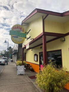 Breakfast, lunch and dinner at Maria's in downtown