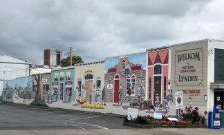 A wonderful mural in downtown Lynden