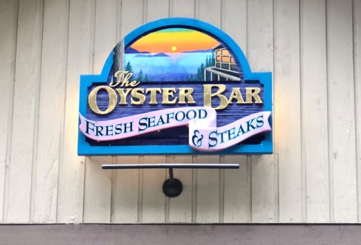Stop in at the Oyster Bar restaurant on Chuckanut Drive