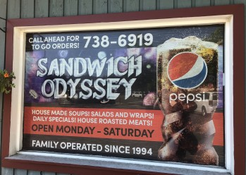 Some seriously amazing sandwiches can be had at Sandwich Odyssey!