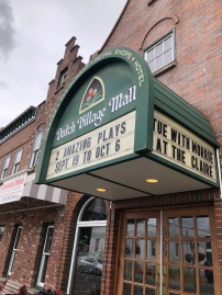 Stop in for a bit of theatre at The Claire in downtown Lynden