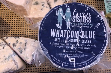 The Twin Sisters Whatcom Blue is delicious!