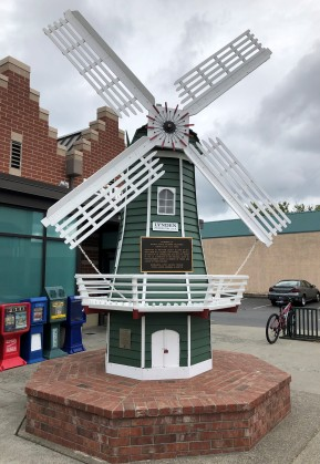 Downtown mini-windmill