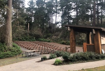 Lovely amphitheater at Deception Pass State Park