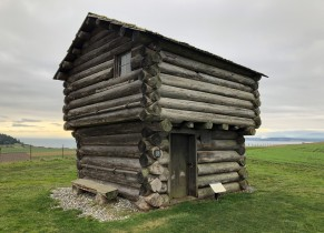 One of the four Ebey blockhouses
