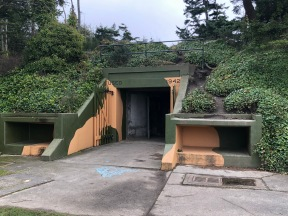 The bunkers of Fort Ebey