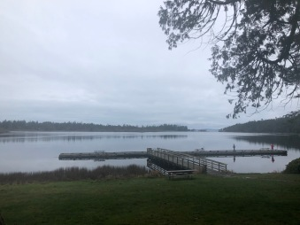 A moody morning on Cranberry Lake
