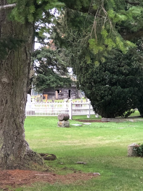 The Davis Blockhouse at Sunnyside Cemetery