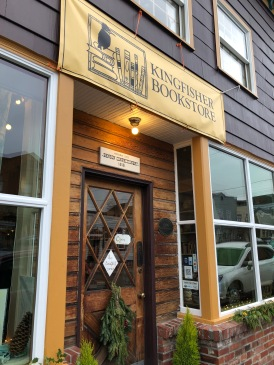 A wonderful bookstore in a classic Coupeville setting