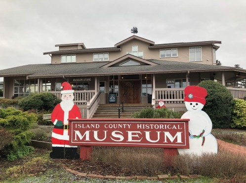 Stop in and learn about the history of Island County