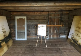 Inside the Alexander Blockhouse