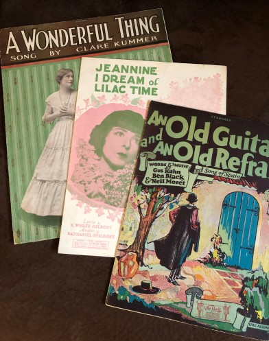 Vintage sheet music finds from Why Be Normal