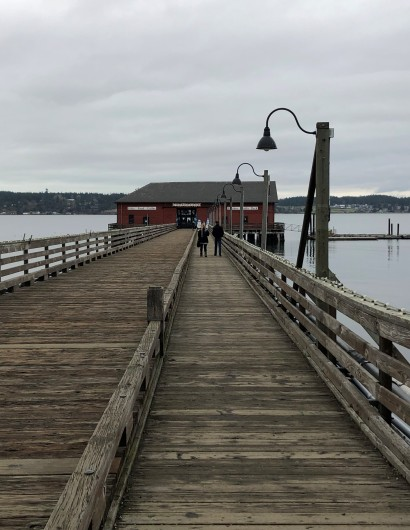 The iconic Coupeville Wharf