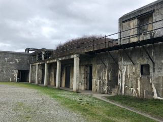A grey day at Fort Casey
