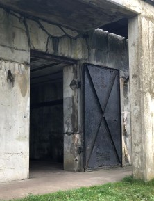 Fort Casey has a good share of beefy doors...