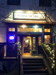 Stop in for a glass of wine at the Farmer & the Vine
