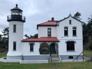 The lovely Admiralty Head Lighthouse