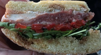 This sandwich was DELICIOUS!