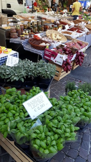 Fresh herbs, produce and more at open-air Italian markets