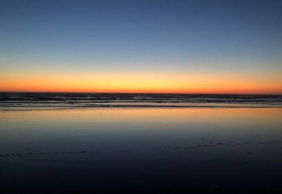 Gratuitous 'beach at sunset' shot...