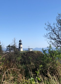 View of the Cape Disappointment Lighthouse