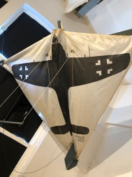 """Part of the """"War Room"""" exhibit at the Kite Museum"""
