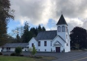 Lovely little Lutheran church in downtown Naselle