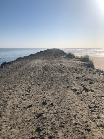 You can walk allllll the way out to the end of the North Jetty. Amazing!