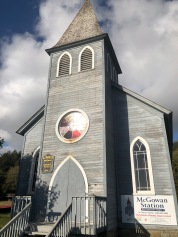 The lovely St. Mary's church at McGowan Station