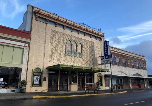 Raymond Theater in downtown Raymond