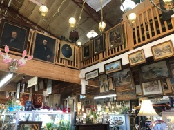 Antiques from floor to ceiling!