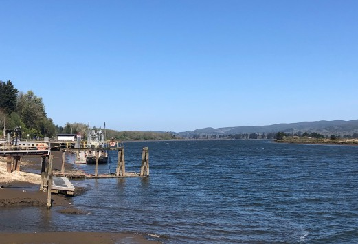 A beautiful day on the Willapa River
