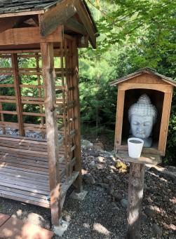 In the Meditation Garden