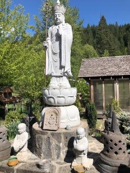 A beautiful scene in the Meditation Garden