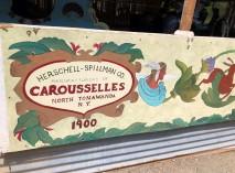 Take a ride on the Herschell-Spillman carousel!