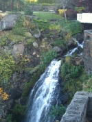 The beautiful grounds of the Columbia Gorge Hotel in Oregon