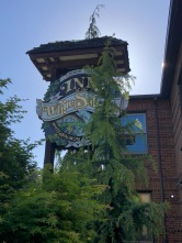 The lovely Inn of the White Salmon (and some trees)