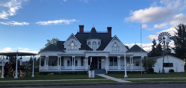 The lovely Presby Museum in downtown Goldendale