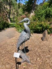 Beautiful sculptures fill the grounds at Maryhill Museum