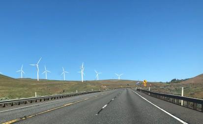 Those windmills are huge!