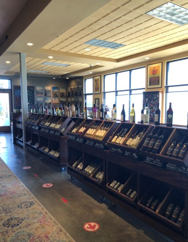 Inside the lovely Maryhill Winery